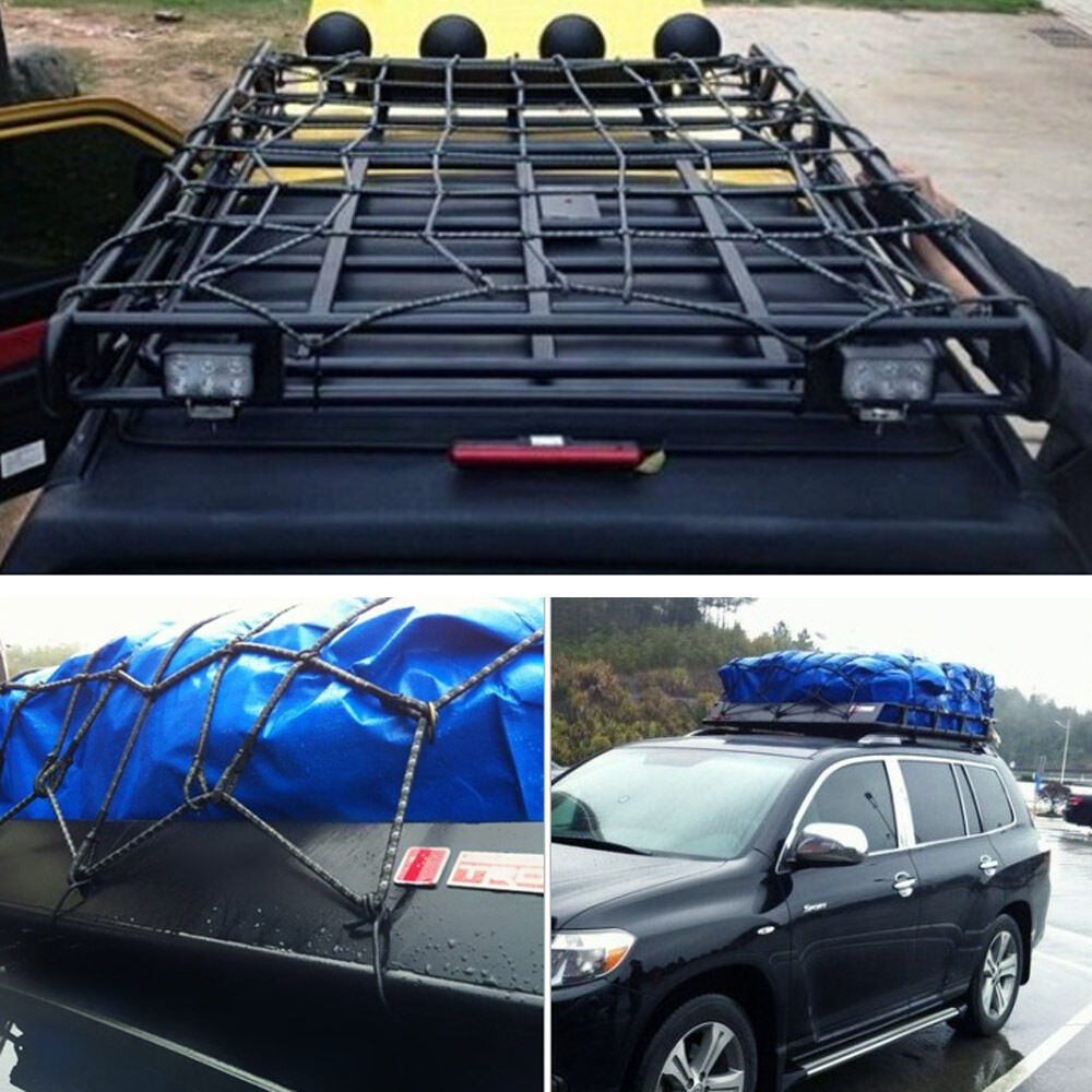 Car Roof Tray Platform Racks Carry Box Luggage Carrier