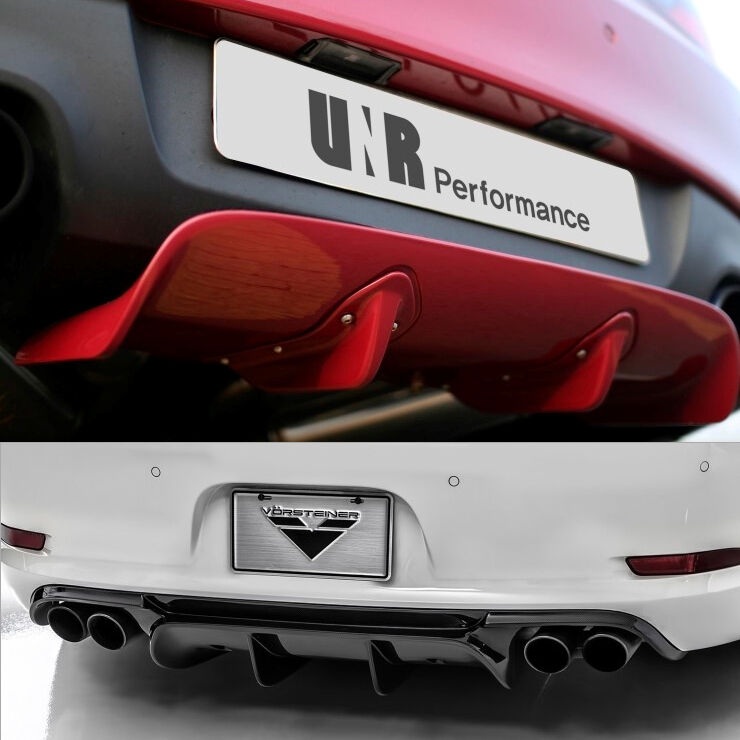 Universal Rear Diffuser (Length Adjustable During
