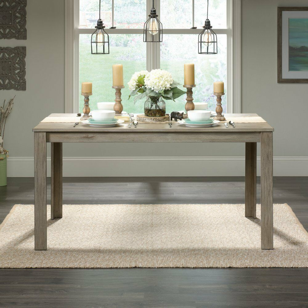 Furniture Dining And Kitchen Tables Farmhouse Industrial: Farmhouse Dining Table Industrial Style Furniture Solid