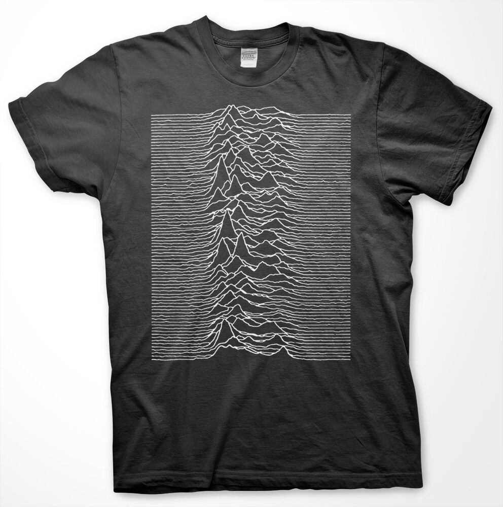 pulsar cp 1919 t shirt joy division unknown pleasures. Black Bedroom Furniture Sets. Home Design Ideas