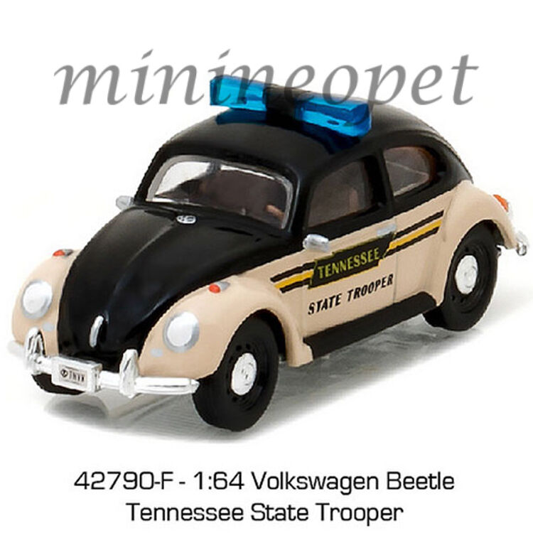 greenlight   classic vw volkswagen beetle tennessee state trooper  ebay