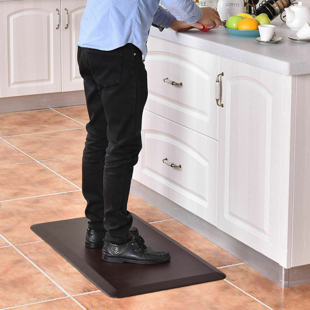 "3/4"" Non-Slip Anti-Fatigue Comfort Mats Floor Mat Kitchen"