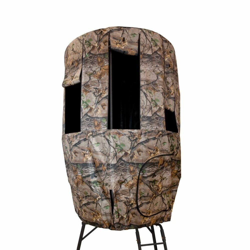 Tripod Deer Stand Covers Camo Blind Roof Weather Game Deer