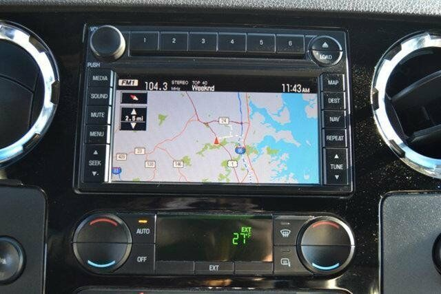ford     superduty gps navigation radio cd player