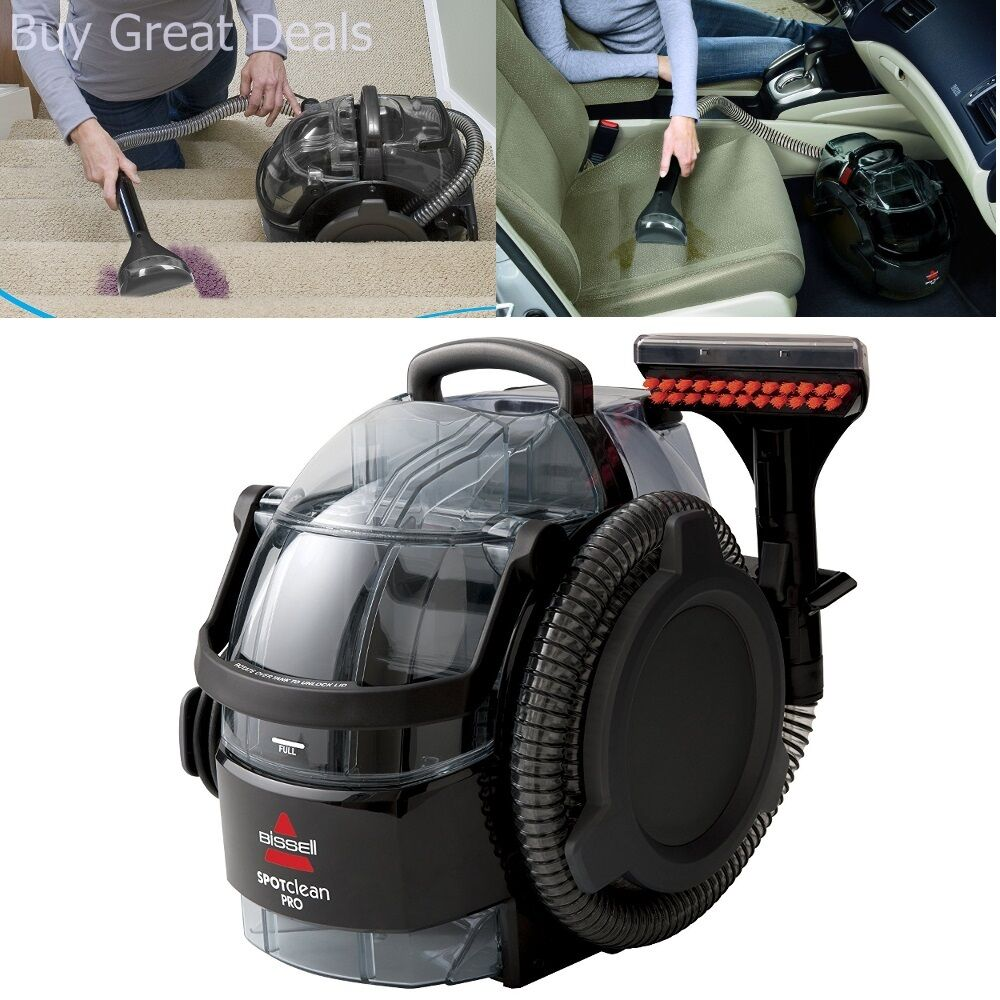 New Bissell Spotclean Portable Cleaner Carpet Brand Auto