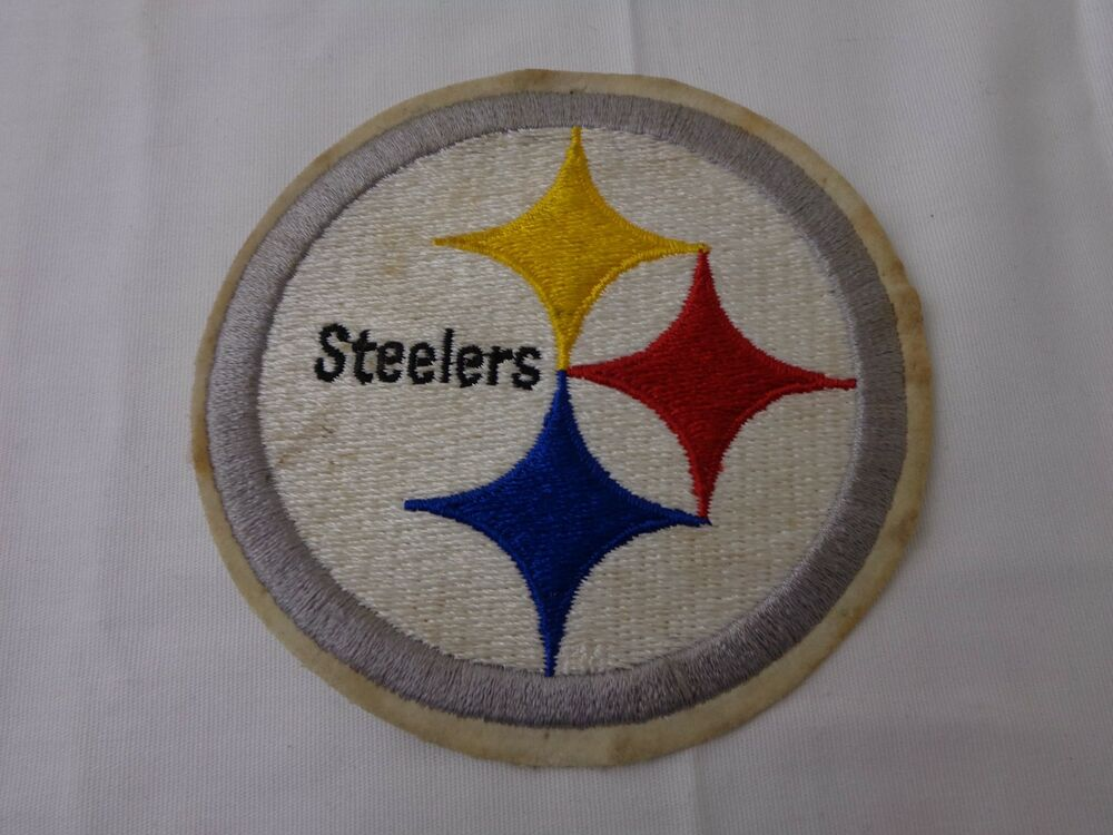 Details about Vintage Pittsburgh Steelers Patch Embroidered Logo Insignia 40a5cc028ee2