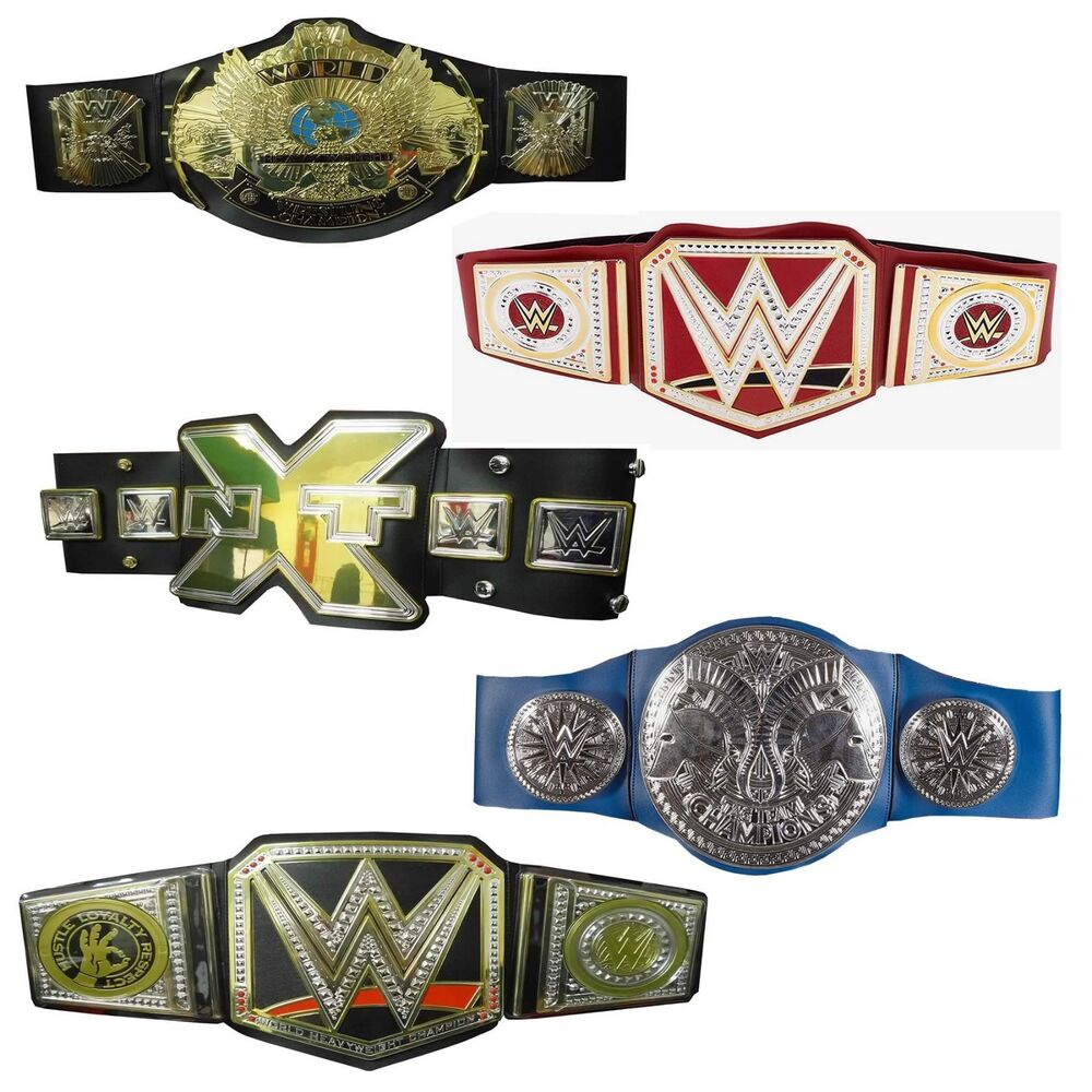 how to make the wwe championship belt