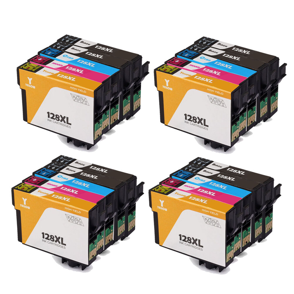 20 ink cartridges for epson stylus s22 sx125 sx130 sx435w sx235w bx305fw printer ebay. Black Bedroom Furniture Sets. Home Design Ideas