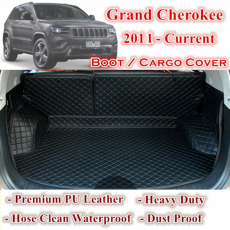 tailor made trunk boot liner cargo mat cover for jeep grand cherokee 2011 2017 ebay. Black Bedroom Furniture Sets. Home Design Ideas