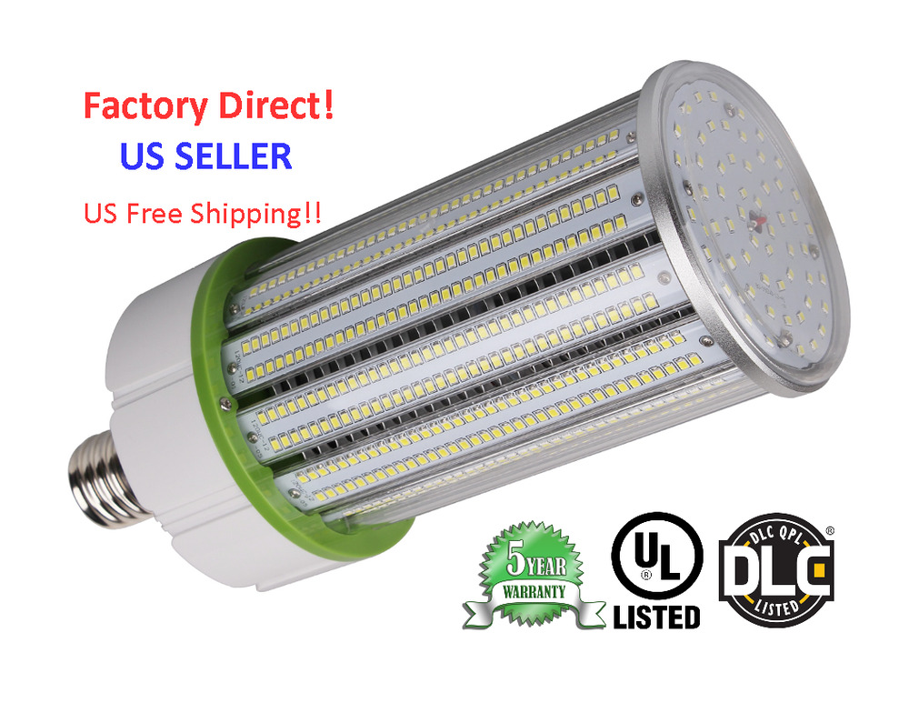 150w led corn cob bulb 5700k 17000 lms replacement 400 watt metal halide ul dlc ebay. Black Bedroom Furniture Sets. Home Design Ideas