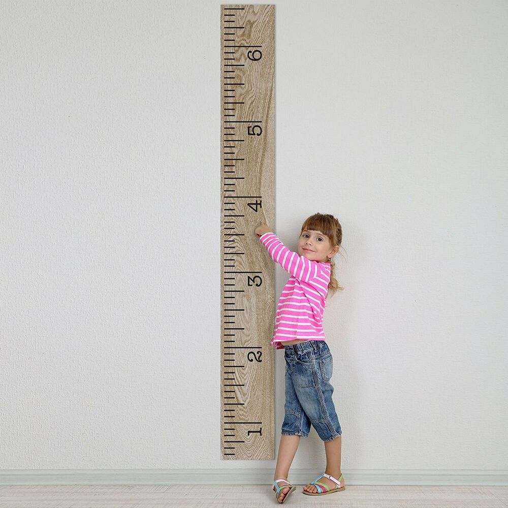 Kids Growth Chart Decal Stickers Wall DIY Applications