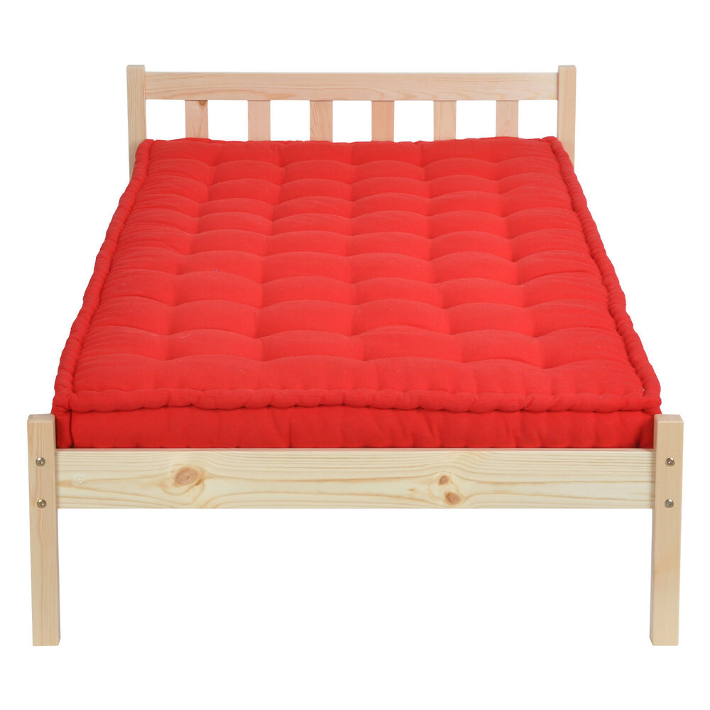 3ft solid pine natural wooden beds single bed frame for