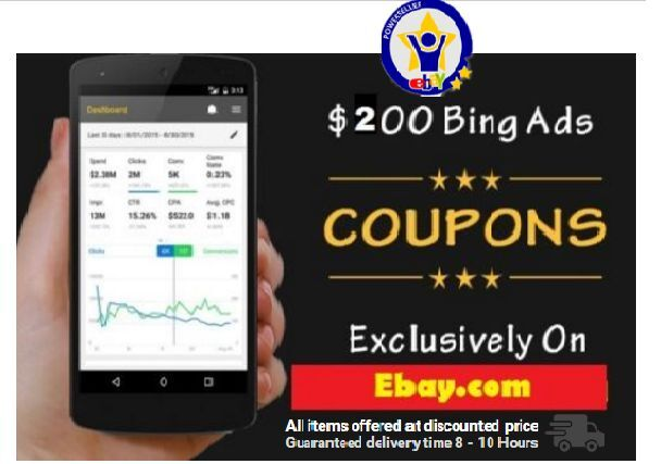 Bing Ads allow to reach to targeted audience using coupon codes and discount. Bing Ads free credits can be used towards your advertising. Bing is 2nd largest search engine after Google and if you want % targeted traffic towards your site or business page then you can use their advertising option.