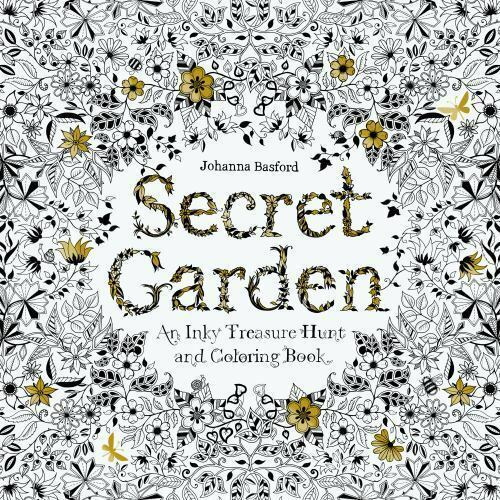 Secret Garden An Inky Treasure Hunt And Coloring Book By Johanna Basford 9781780671062