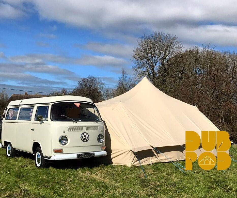 Vw T1 Campervan Dubpod Drive Away Canvas Awning By Bell