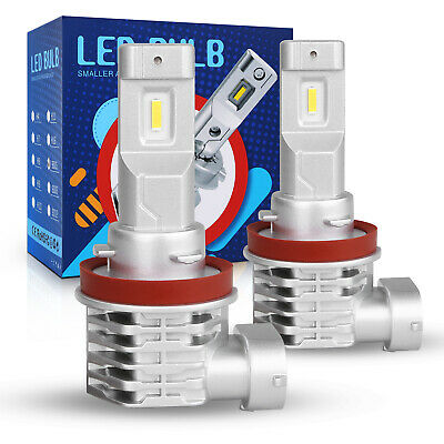 1100W 165000LM Lumileds LED HEAD LIGHT BULB 9007 HB5 6000K WHITE HIGH LOW BEAM