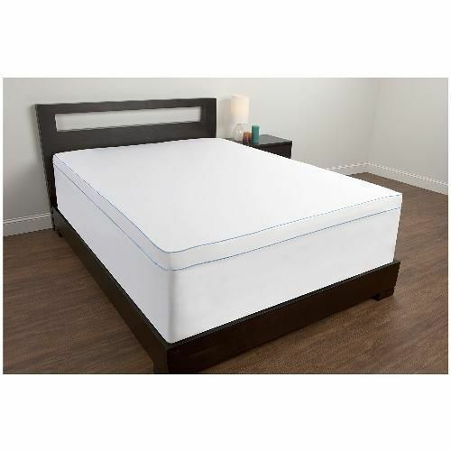 new mattress topper cover for twin size bed pad microfiber bedding protection ebay. Black Bedroom Furniture Sets. Home Design Ideas