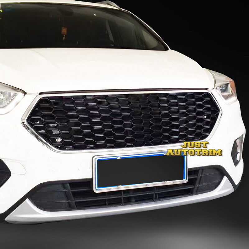 Black Gloss Double honeycomb Sport Style Front Grille for ...