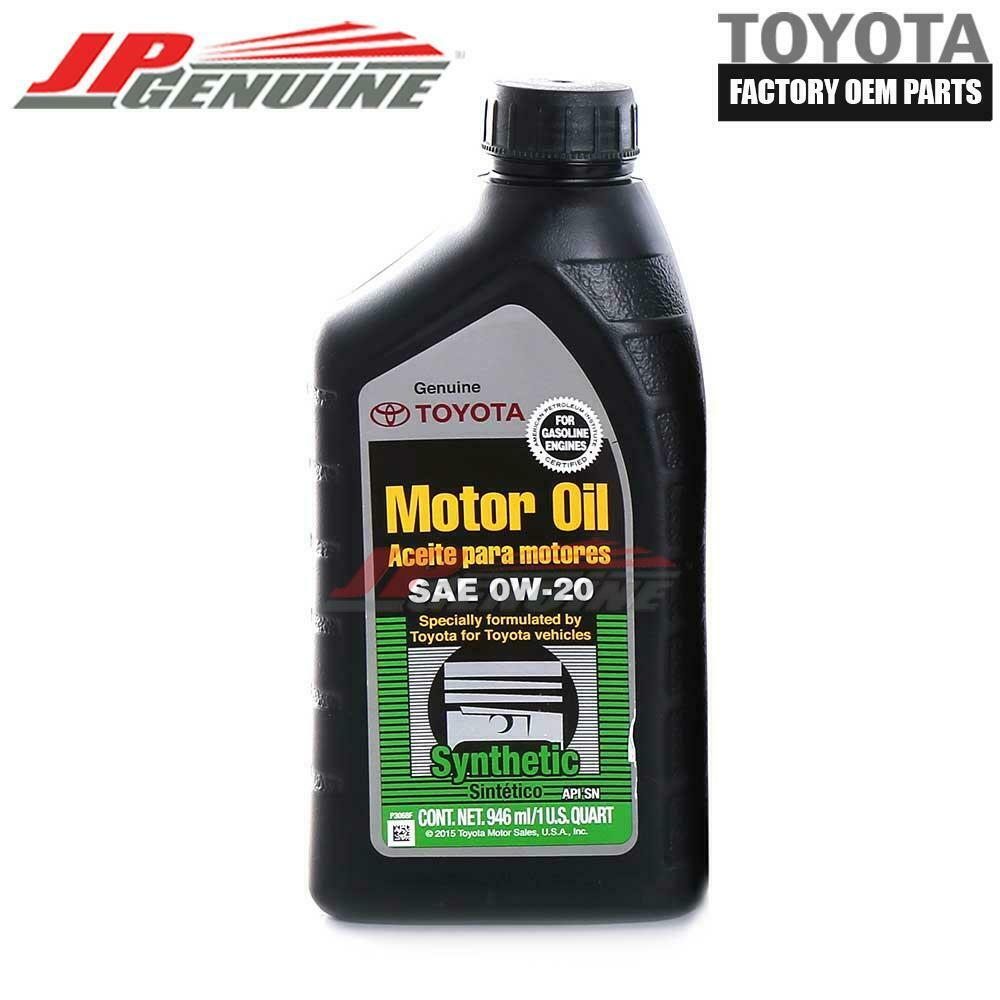 Factory oem toyota lexus new 0w20 synthetic motor engine for What is ow 20 motor oil