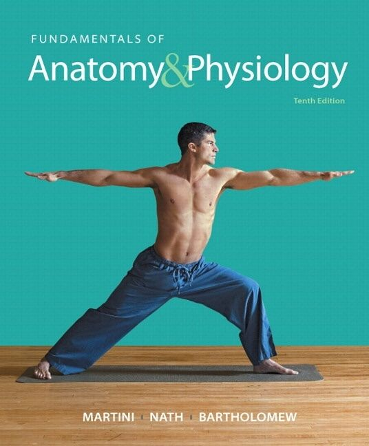 Fundamentals Of Anatomy And Physiology by Martini Frederic, Hard ...