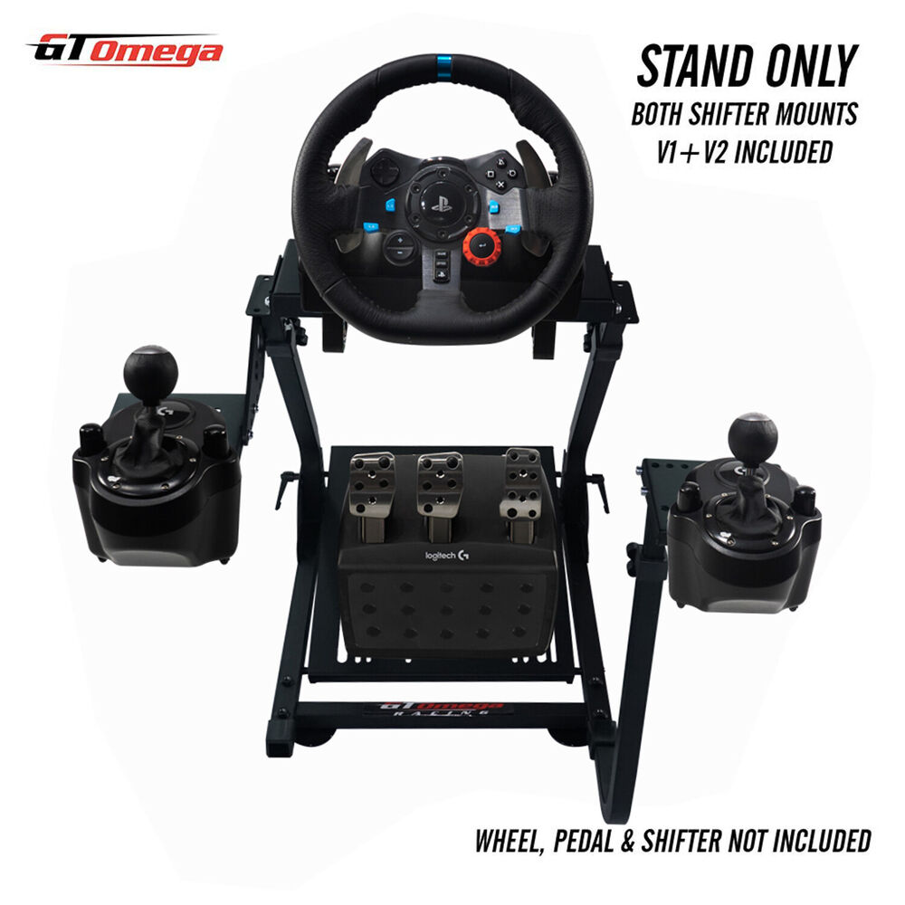 gt omega steering wheel stand pro for logitech g29 racing. Black Bedroom Furniture Sets. Home Design Ideas