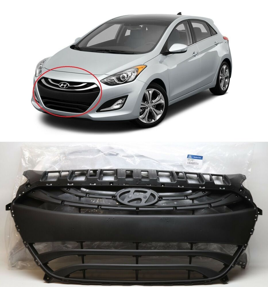 2013 2014 2015 elantra gt hatchback front bumper grille. Black Bedroom Furniture Sets. Home Design Ideas