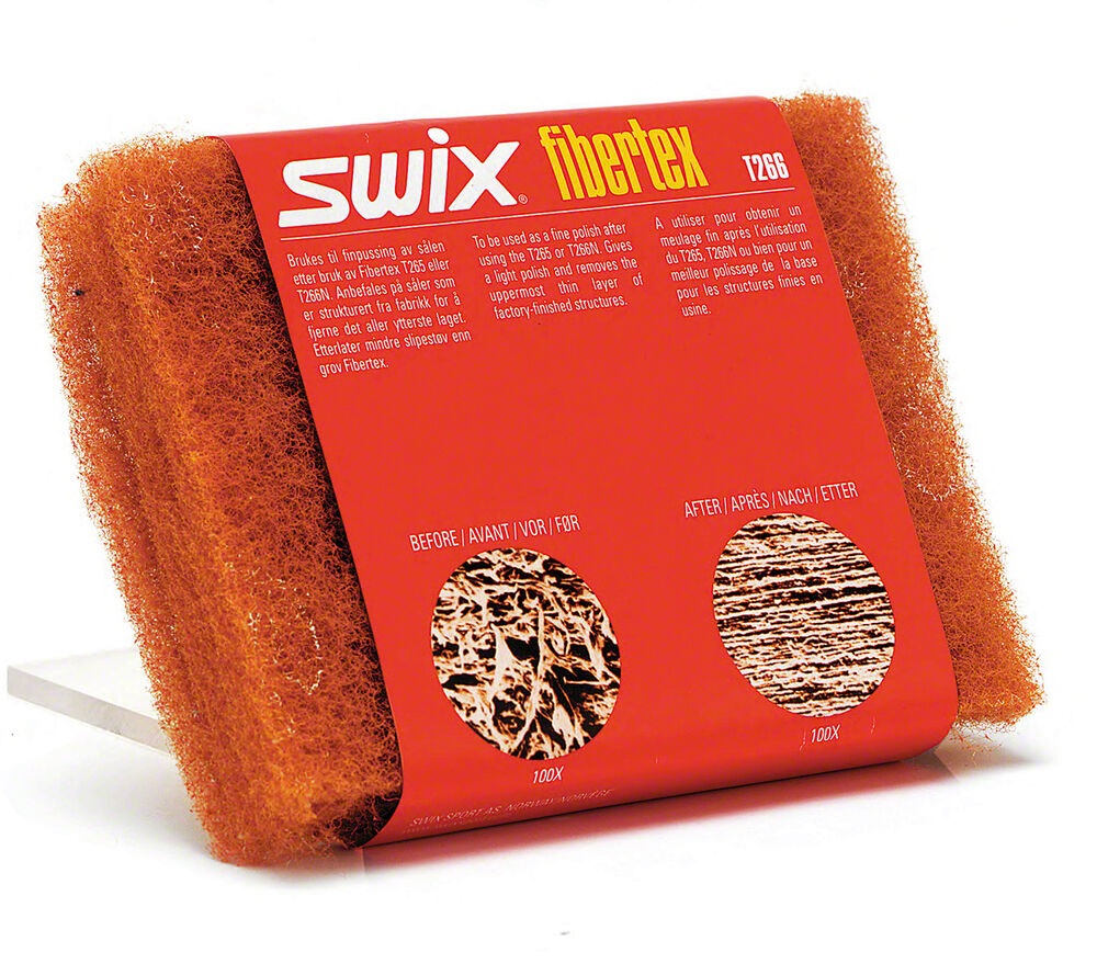 Swix Fibertex Pads: Orange: X-Fine