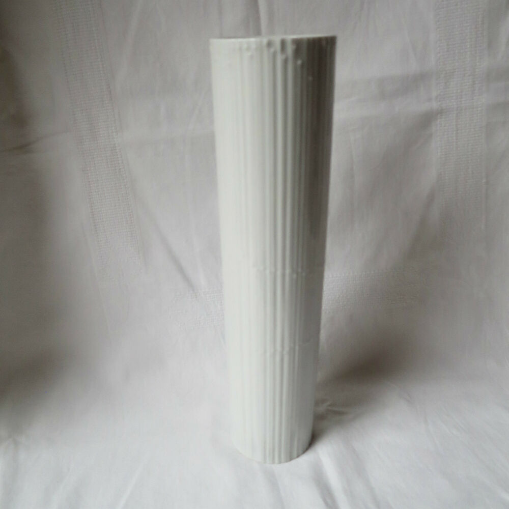 rosenthal germany porzellan design vase modern weiss 30cm tapio wirkkala rar ebay. Black Bedroom Furniture Sets. Home Design Ideas