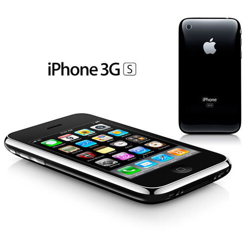 apple iphone 3gs 8gb black unlocked smartphone. Black Bedroom Furniture Sets. Home Design Ideas