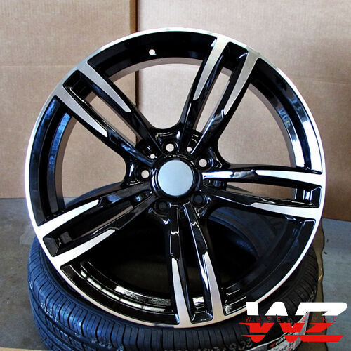 20 Quot Wheels Fits Bmw 5 6 Series M6 Sport Style 437 In Black