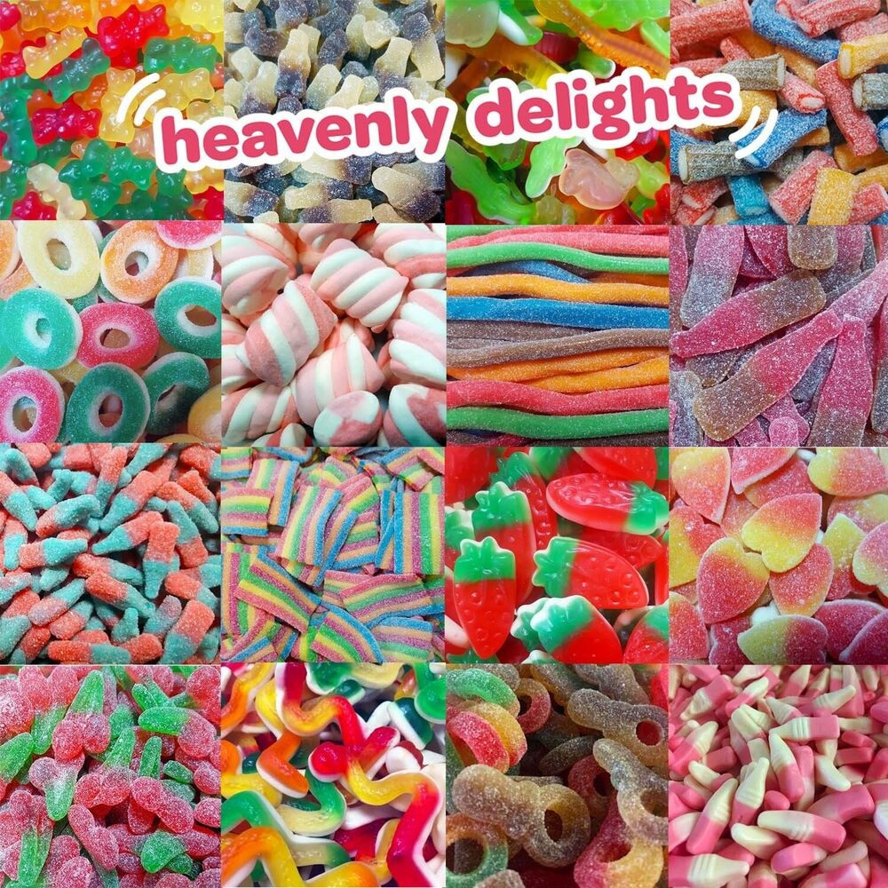 Heavenly Delights 100% Halal Sweets (Pic n Mix) Retro ...