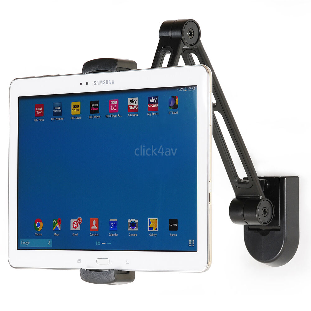 Wall Or Under Cabinet Mount Bracket Ipad Mini Iphone Tablet Desk Stand Pad2802