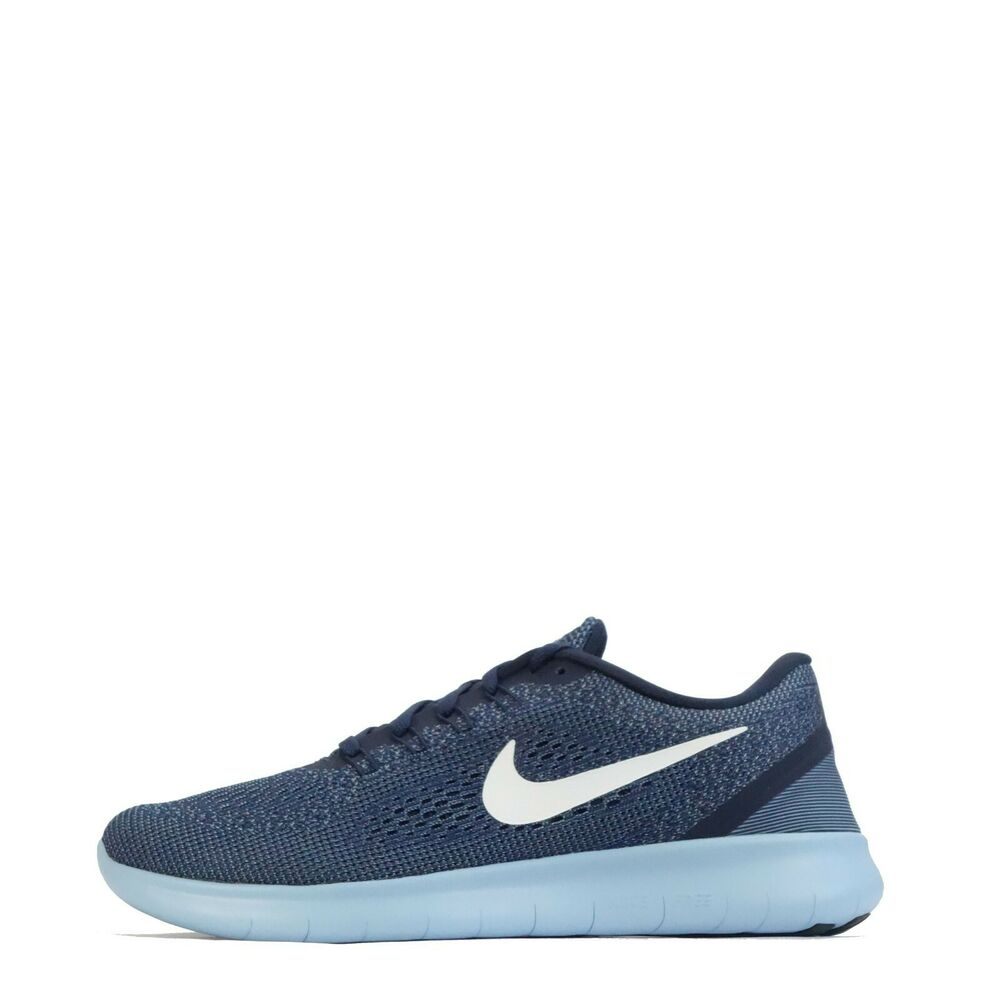 ab7328cd7cee Details about Nike Free RN Run Men s Running Shoes Midnight Navy White