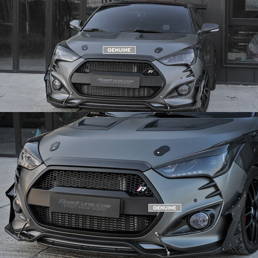 Rr Replacement Radiator Grille For Hyundai Veloster Turbo