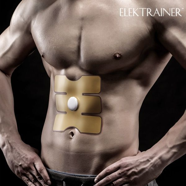 Blast Electro-Stimulator Patch Muscle Toning Abs Slimming Kit