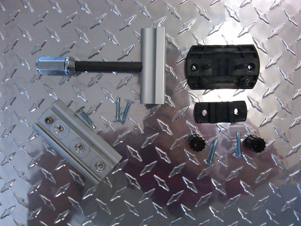 Trailer Spare Tire Mount & 4-Way Lug Wrench Mount Combo 4 Wheels Cargo Trailer | eBay