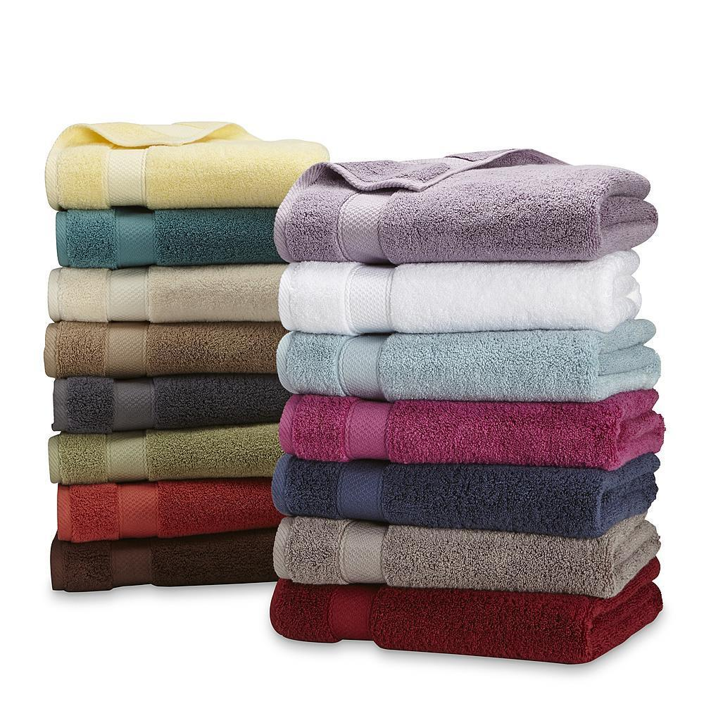 Dry Washcloths: Bath Hand Towel Washcloth Egyptian Cotton Superior