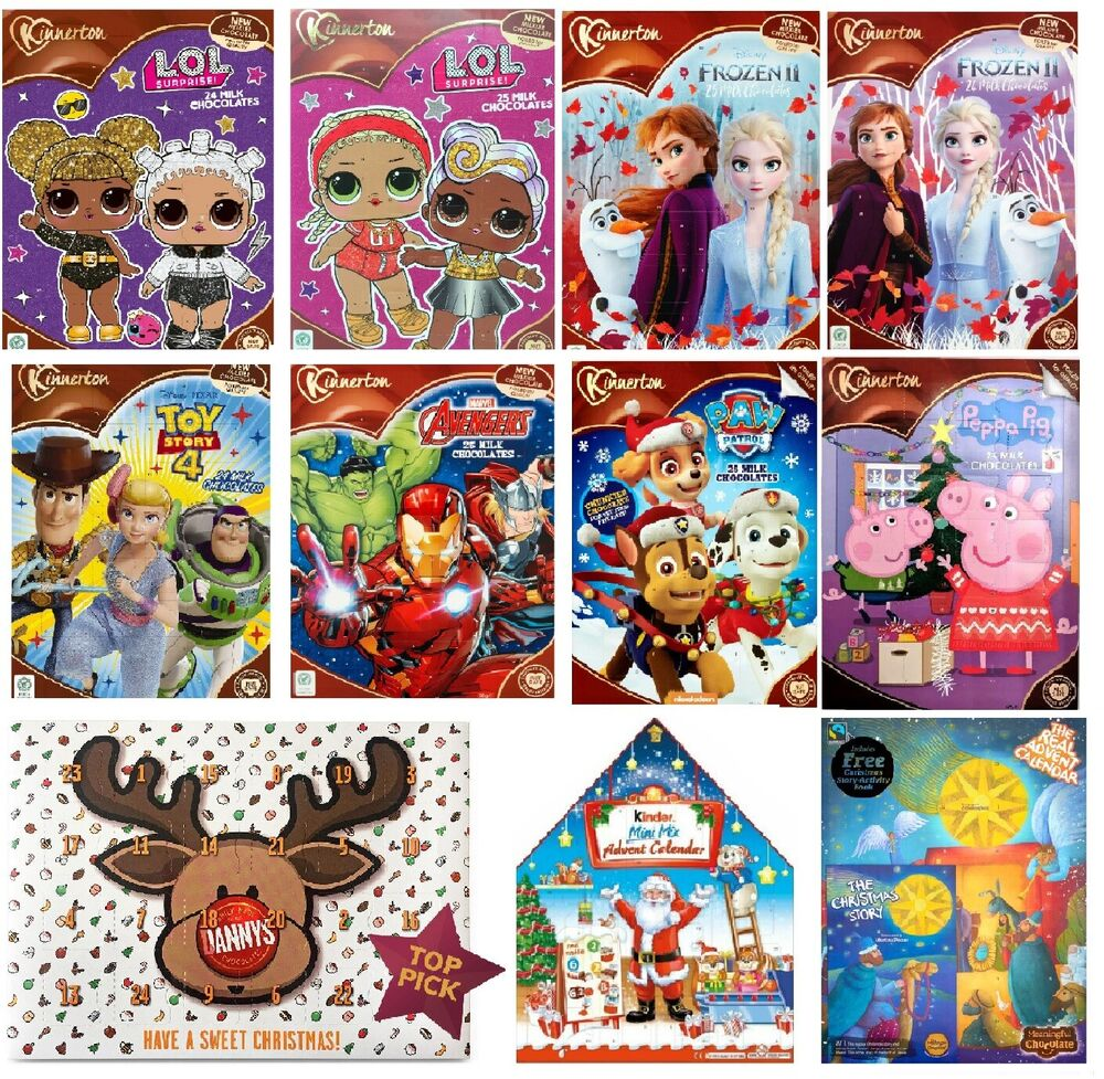 Milk Chocolate Advent Calendar Christmas Countdown Gifts ...