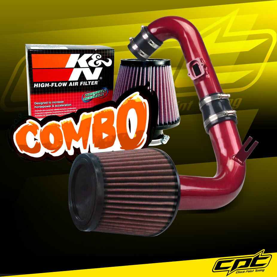 11 15 Chevy Cruze Turbo 1 4l 4cyl Red Cold Air Intake K