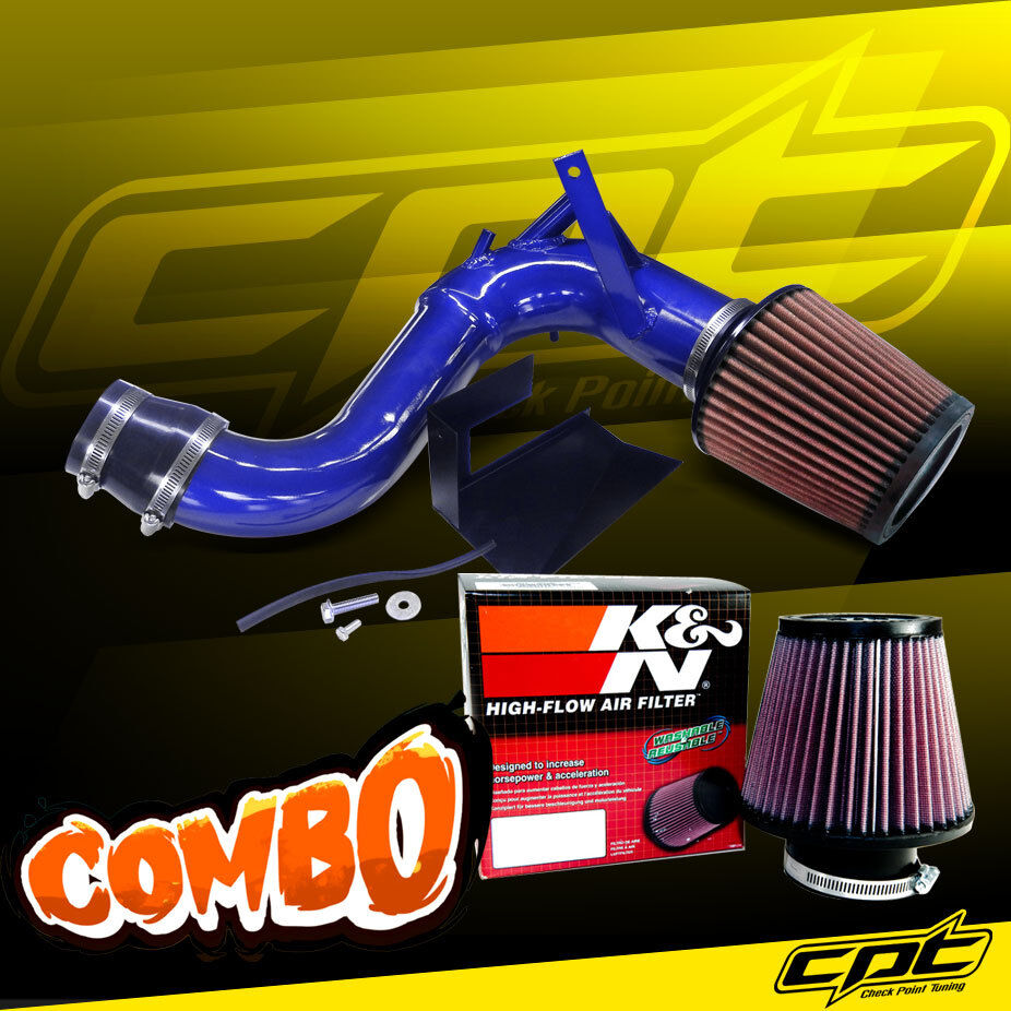 11-14 Sonata Turbo 2.0L 4cyl Black Cold Air Intake K/&N Air Filter