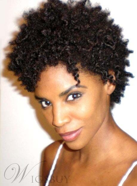 short natural kinky hair styles american curly synthetic hair womens 2810 | s l1000