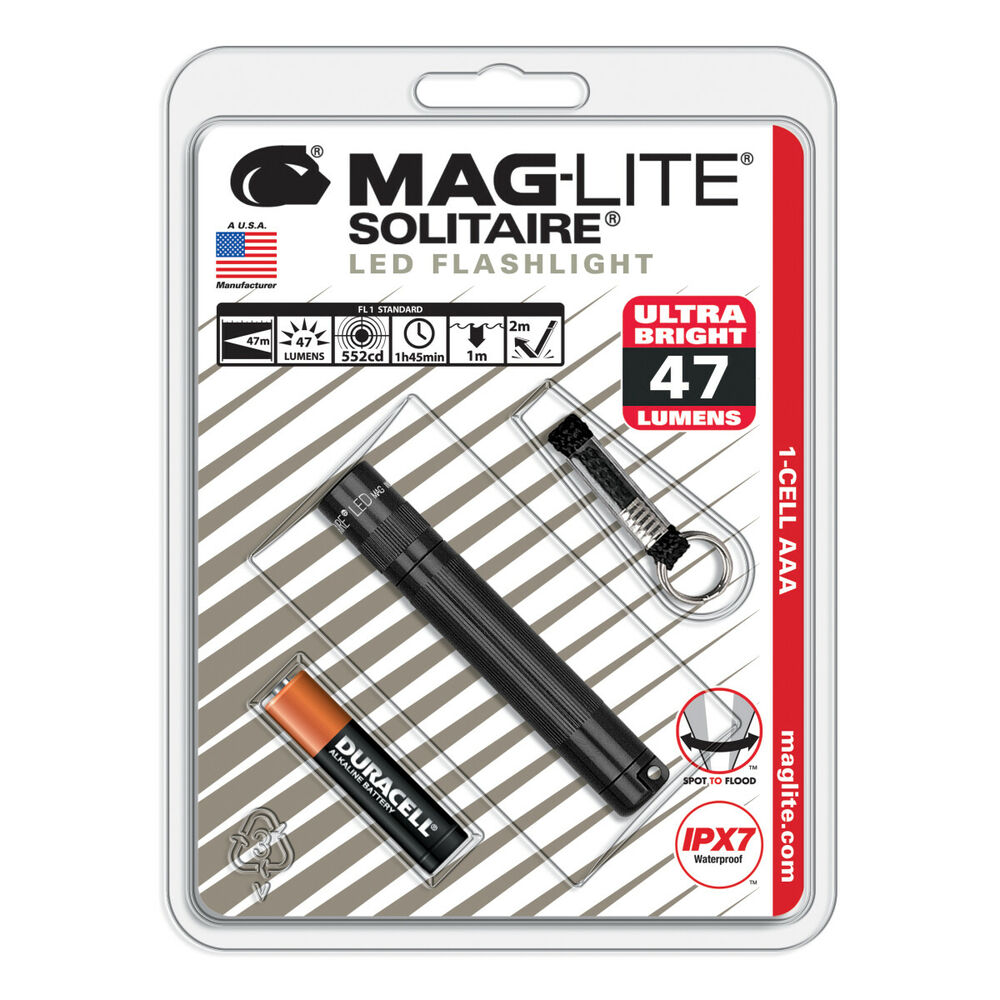 mag lite taschenlampe maglite solitaire 1 cell aaa ebay. Black Bedroom Furniture Sets. Home Design Ideas