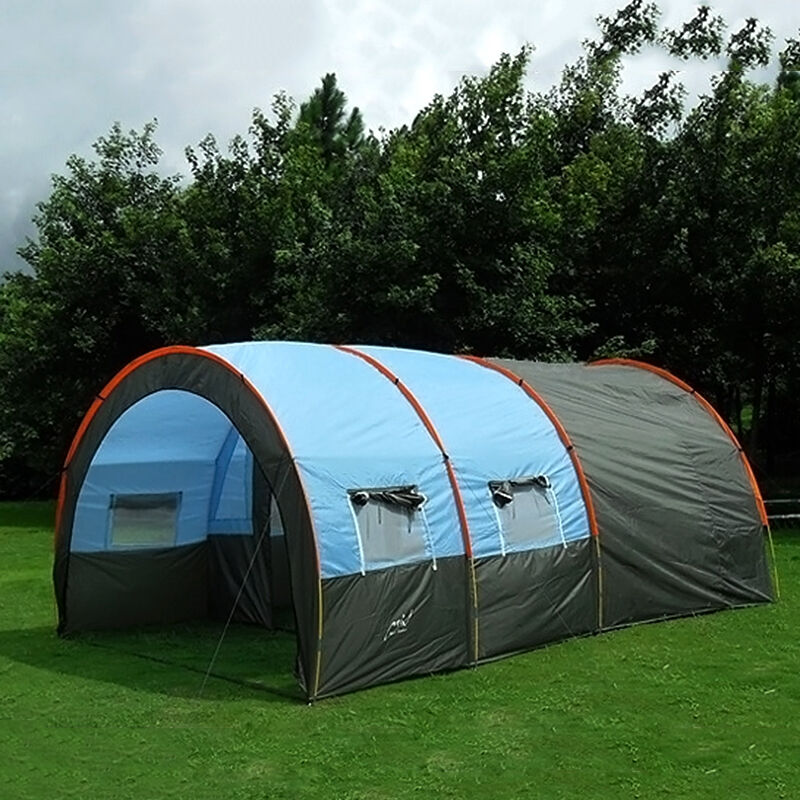 Waterproof 8-10 Person Family Camping Large Tent Hiking ...