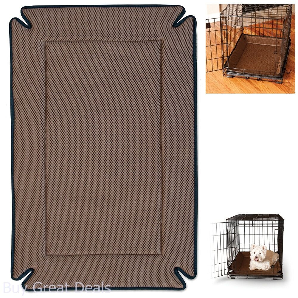 Pet Crate Pad Dog Cat Kennel Bed Small Odor Control Cage