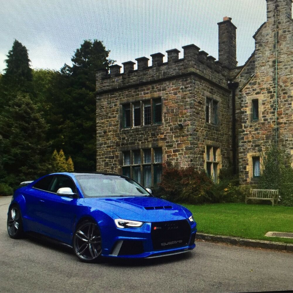 audi a5 xclusive bodykit a5 tuning a5 kit a5 rs5 s5 conversion coupe convertible ebay. Black Bedroom Furniture Sets. Home Design Ideas