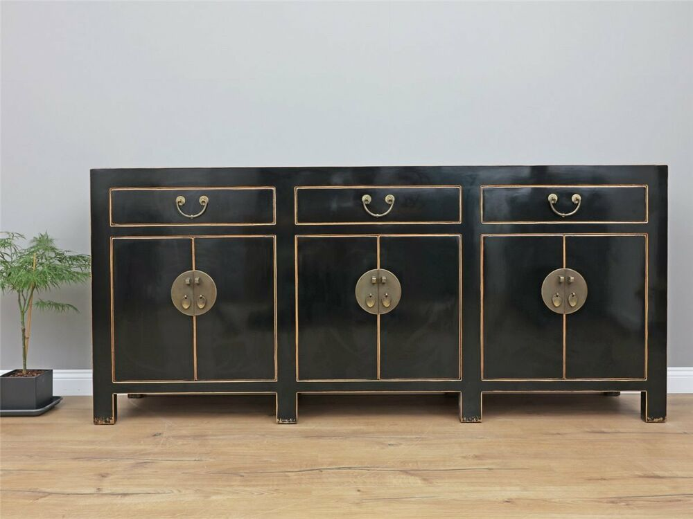 chinesisches sideboard massivholz fernsehtisch kommode china y327 ebay. Black Bedroom Furniture Sets. Home Design Ideas