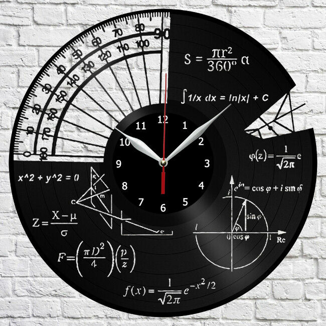 Math themes vinyl record wall clock home decor the best original math themes vinyl record wall clock home decor the best original gift 1 ebay ccuart Image collections