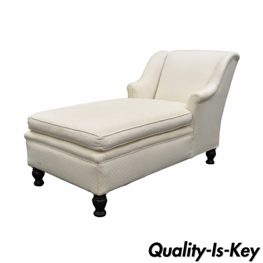 Antique French Empire Style Chaise Lounge Fainting Couch