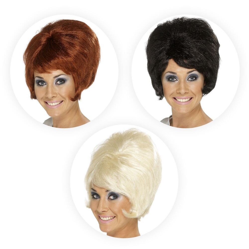 Beehive Style Wedding Hair: Ladies 60s Beehive Style Wig Hairstyle Swinging Sixties