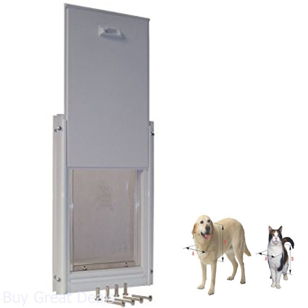 Pet Door Extra Large Frame Durable Easy Install Dog Doggie Flap ...